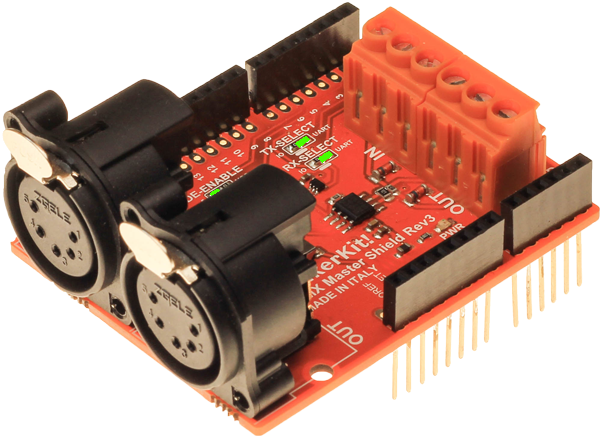 Tinkerkit DMX shield